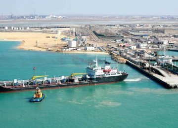 Jask Mega Oil Tanks Under Construction