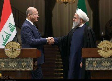 Iran, Iraq Determined to Bolster Economic Relations