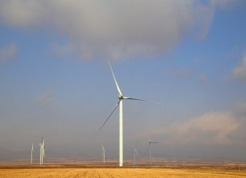 Largest Wind Farm  Operational in Qazvin