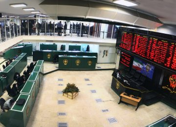 Turbulence in Tehran Stock Market