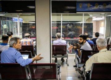 Tehran Stocks Lose Only to Make a Comeback