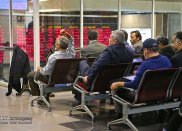 Tehran Stocks Pare Losses After Sharp Plunge