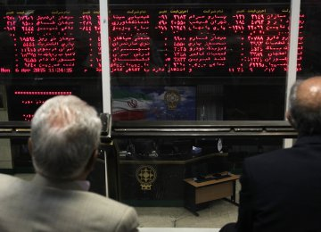 Tehran Stocks Mostly Higher on Monday