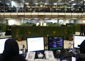 Tehran Stocks Near Record Highs