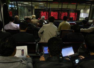 Tehran Stocks Move Into Positive Territory