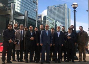 Iranian Delegates Meet European Regulators in London