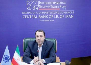 Iran's CB Chief: Universal Vaccination a G24 Priority