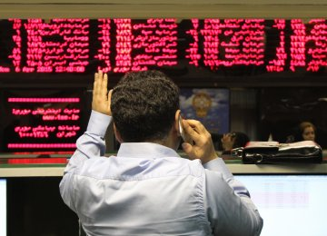 Tehran Stocks Mixed on Saturday