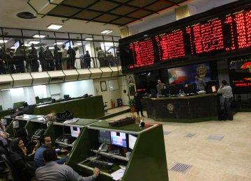 Tehran Stocks Shed 2,000 Points