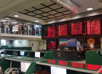Tehran Stocks End Trading Week Bullish