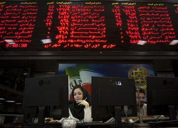 Tehran Stocks Turn Higher