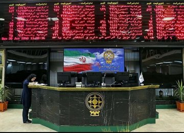 Tehran Stocks Exchange Closes Slightly Higher