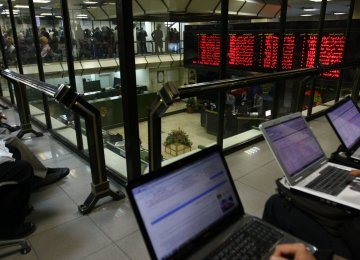 Tehran Stocks in Negative Territory