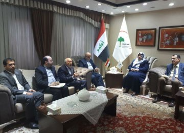 Iranian and Iraqi officials agreed to establish a pharmaceutical committe in Baghdad on July 3.