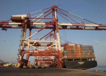 Shahid Rajaee Port Holds Lion's Share of Incoming Transit Traffic