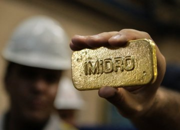 Mouteh Gold Output  at 602 kg Last Year