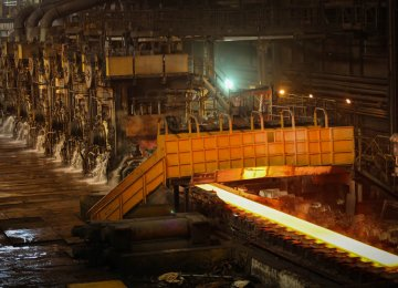 The Iranian steel industry had the fastest growth in production among all producers of more than 1 million tons of steel per month.