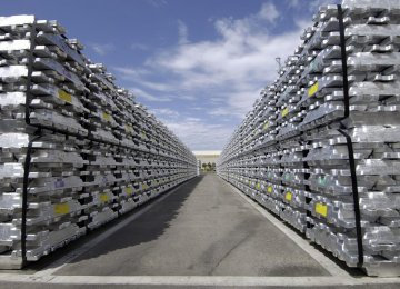 While Iran currently produces about 400,000 tons per year of aluminum, consumption is around 600,000 to 700,000 tons.