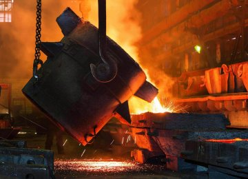 Iran Steel Output Soars by 23%