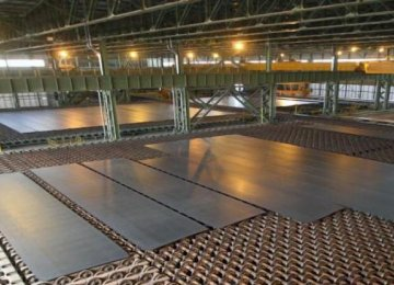 Oxin Steel is Iran's biggest producer of heavy plates, with a capacity of 1 million tons per year.