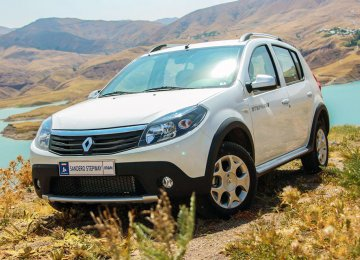 Currently Renault Sandero is produced in Iran by local carmakers.