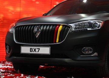 Borgward BX7 Hits the Road in Tehran