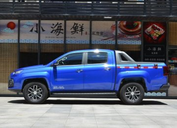 Rigan Khodro Eyes JMC Pickup for Production in Iran