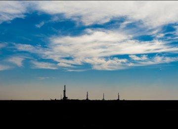 Work in Progress at Iran's South Azadegan Oilfield