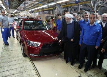 IKCO to Produce 2 Sedan Models in Belarus