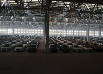 The government has required car importers to pay the higher tariffs announced in January.