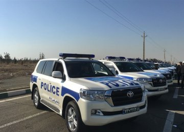 Toyota Land Cruiser for Iranian Police Fleet