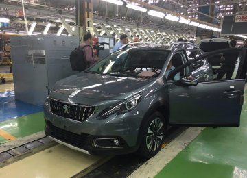 Among the new vehicles with a four-star quality is the Peugeot 2008 produced in Iran through a joint venture between Iran Khodro and the French automaker Peugeot.