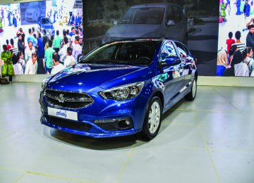 SAIPA Debuts Homegrown  Sedan at Shiraz Auto Show