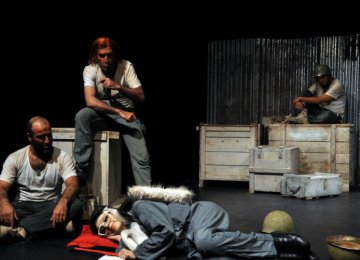 Antiwar Play at Mehregan Theater