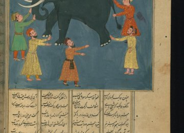 "An illustration of ""Elephant in the Dark"""