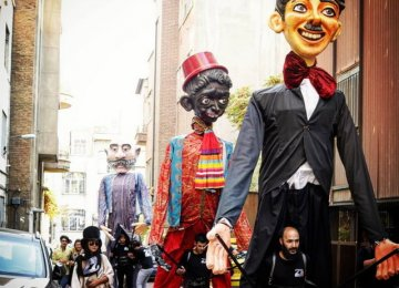 Persian Puppet Show in Russia