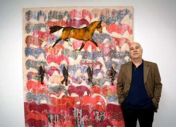 Ane Mohammad Tatari and his painting