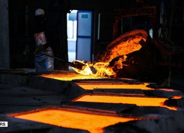Iran Steel Exports Decline in Wake of Sanctions