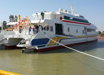 Iran-Made Catamarans  to Operate on  Khorramshahr-Basra Route
