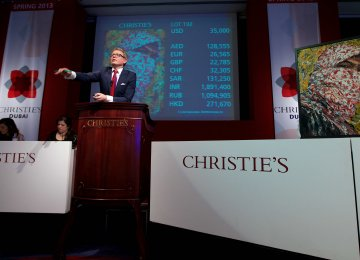 ICHHTO to Salvage Iranian  Relics From Christie's Auction
