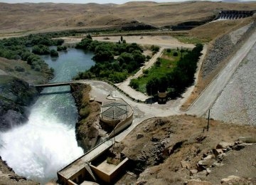 Boukan Dam to Feed Urmia Lake