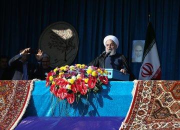Rouhani: US Will Fail to Cut Iran's Int'l Ties