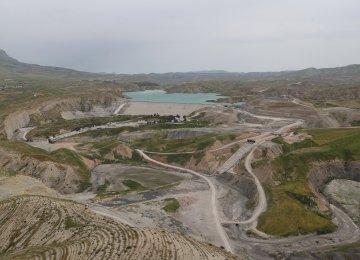 Dam Extensions in Iran's Kermanshah Province