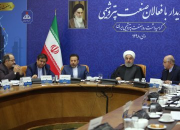 Rouhani Says Petrochem Revenues Will Rise 47% in Two Years