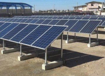 Solar Power Station Opens in Iran's Kerman Province