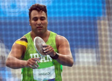 Haddadi Takes Silver in IAAF Diamond League