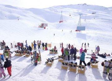 Dizin resort hosts ski fans across the region every year.