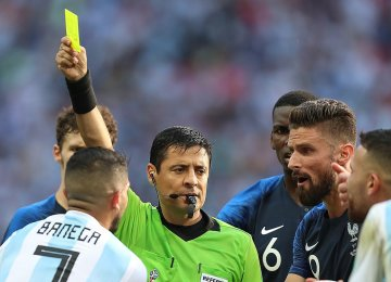 Faghani Will Officiate  FIFA World Cup 3rd Place