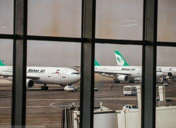 Iran Airport Traffic in Decline (Dec 2018)