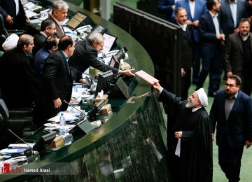 Rouhani to Submit Budget Bill to Parliament Today
